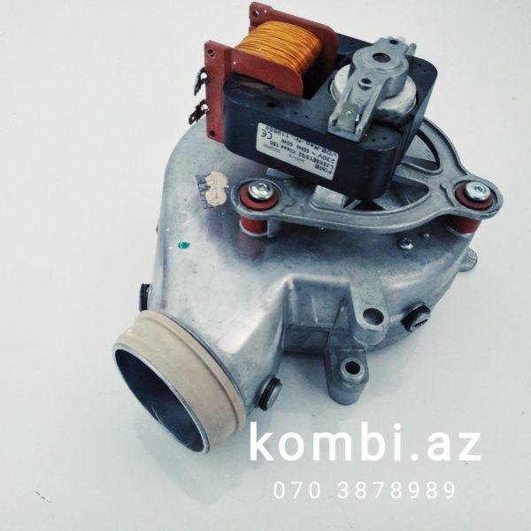 Demirdöküm Milleniyum fan motor, kombi fan motor, kombi ehtoyat hisseleri, kombilerin temiri, kombi fan motor qiymetleri.