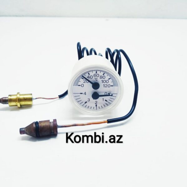 Viessman kombi termomanometr